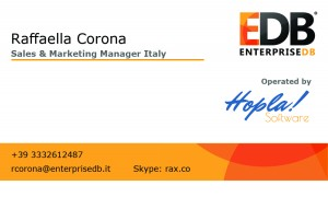 Business Card Raffaella Corona