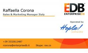Business Card Raffaella Corona